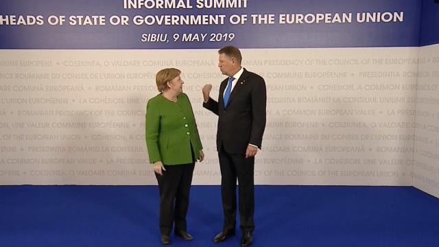 Mesajul lui Klaus Iohannis la finalul Summitului de la Sibiu. Momentele cheie ale zilei - Imaginea 14