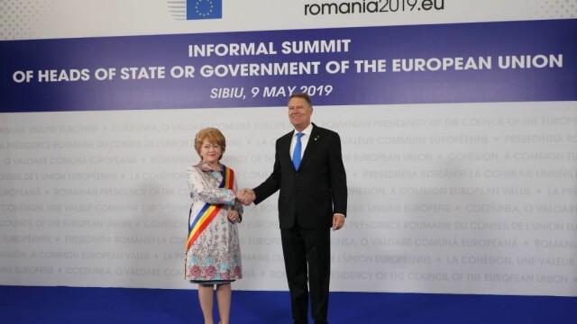 Mesajul lui Klaus Iohannis la finalul Summitului de la Sibiu. Momentele cheie ale zilei - Imaginea 19