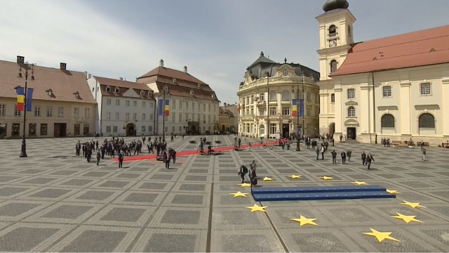 Mesajul lui Klaus Iohannis la finalul Summitului de la Sibiu. Momentele cheie ale zilei - Imaginea 25