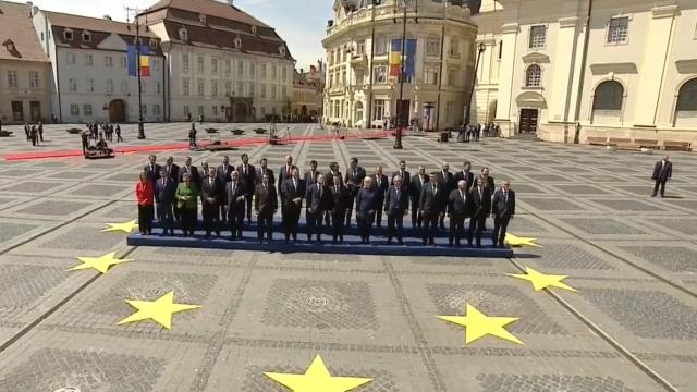 Mesajul lui Klaus Iohannis la finalul Summitului de la Sibiu. Momentele cheie ale zilei - Imaginea 31