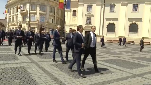 Mesajul lui Klaus Iohannis la finalul Summitului de la Sibiu. Momentele cheie ale zilei - Imaginea 32