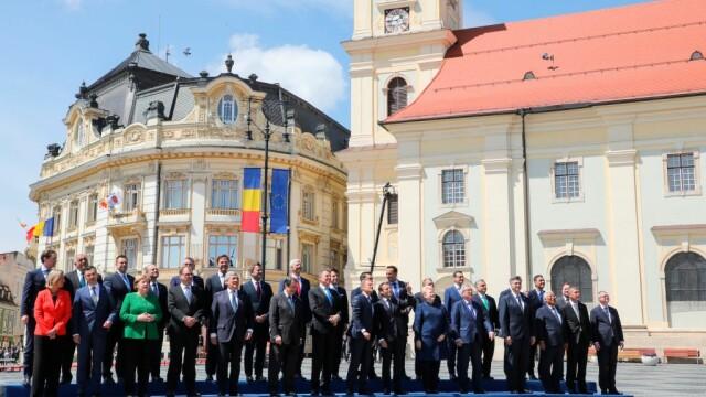Securitate sporită la summitul de la Sibiu. Zona este monitorizată cu drona. VIDEO - Imaginea 4