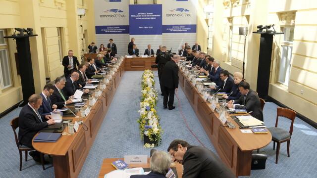 Mesajul lui Klaus Iohannis la finalul Summitului de la Sibiu. Momentele cheie ale zilei - Imaginea 34