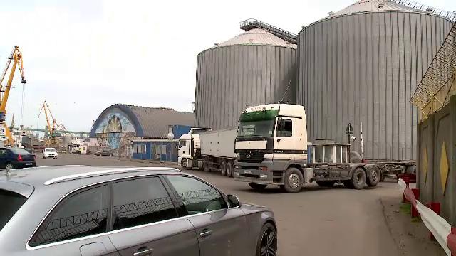 Traficul de cereale a crescut cu 40% în portul Constanța. \