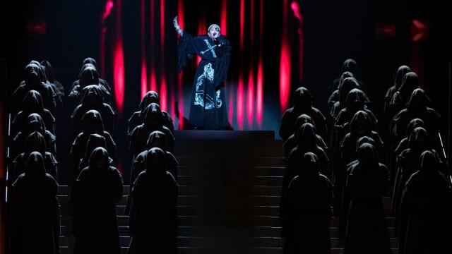 Madonna, moment controversat la Eurovision. Gestul care i-a înfuriat pe organizatori. FOTO - Imaginea 7