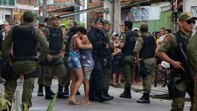 Masacru într-un bar din Brazilia. 11 oameni, executaţi în stil mafiot - Imaginea 1
