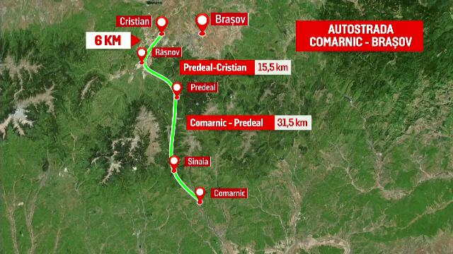 """Autostrada Comarnic-Brașov, construită de chinezi și turci. ONG-uri: """"Este o glumă proastă"""""""