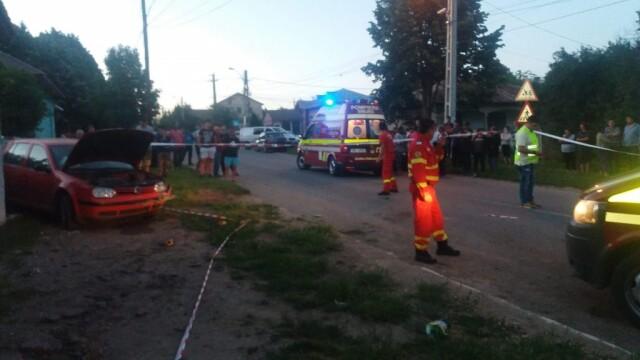 Accident grav in Piatra, Teleorman