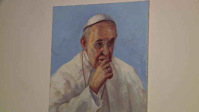 """Cadoul unui român pentru Papa Francisc. """"Nu te întâlneşti în fiecare zi cu Papa"""" - Imaginea 9"""