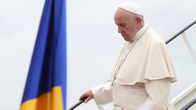 Mesajul publicat în limba română pe Twitter de Papa Francisc, după vizita în țara noastră