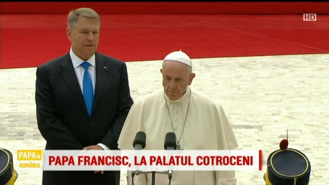 Papa Francisc in Romania
