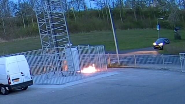Val de atacuri care au vizat antene 5G, în Europa.