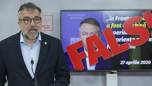 PSD cere SRI sa explice public declaratiile lui Iohannis privind Ardealul - 1