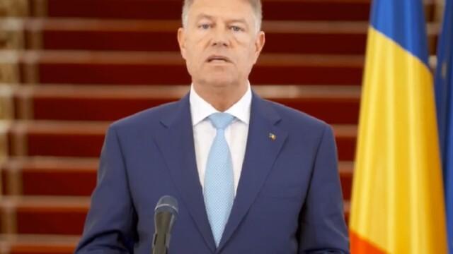 Klaus Iohannis: Starea de urgență nu va fi prelungită