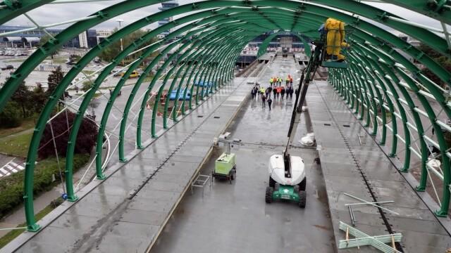 Cum arată linia de cale ferată dintre aeroport şi Gara de Nord. Ministrul Transporturilor, despre stadiul lucrărilor - Imaginea 2
