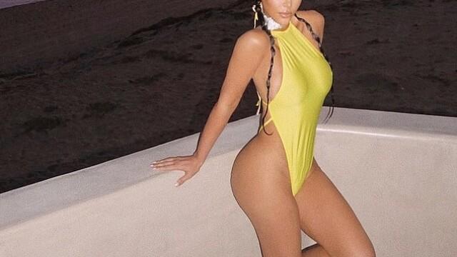 Kim Kardashian și-a păcălit fanii. În ce ipostază s-a pozat vedeta. GALERIE FOTO - Imaginea 2