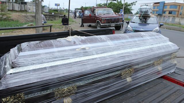 Sute de cadavre depozitate pe străzi sau pierdute în spitale și morgi într-un oraș din Ecuador. GALERIE FOTO - Imaginea 4