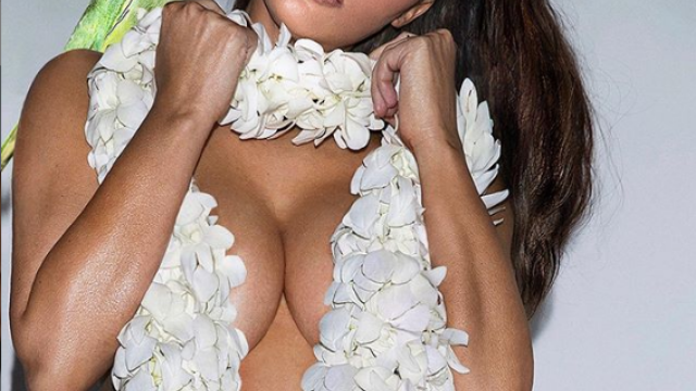 Kim Kardashian și-a păcălit fanii. În ce ipostază s-a pozat vedeta. GALERIE FOTO - Imaginea 1