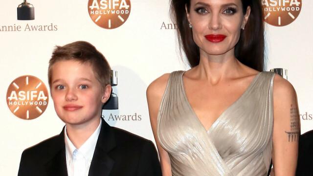 Angelina Jolie și Brad Pitt, cadou special pentru aniversarea de 14 ani a fiicei lor, Shiloh - Imaginea 1