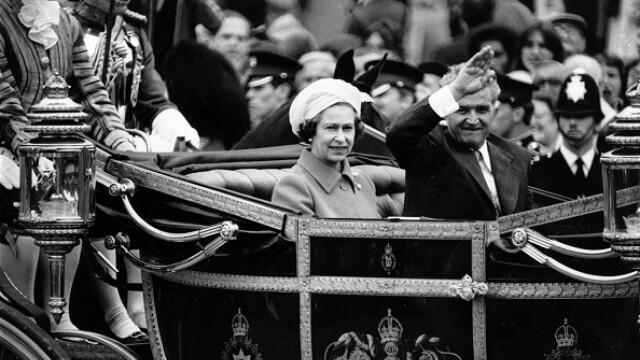 ceaușescu și regina elisabeta