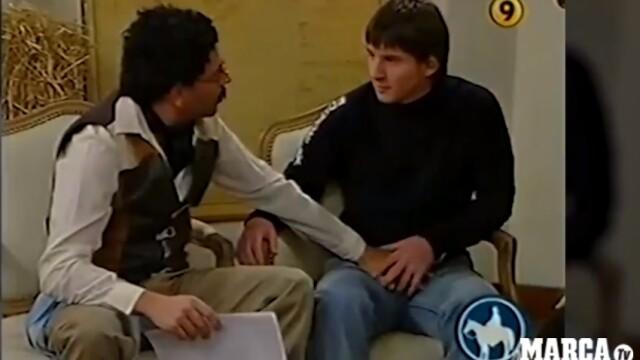 Momente stânjenitoare pentru Messi, în timpul unui interviu. Gestul inexplicabil făcut de prezentator - Imaginea 2