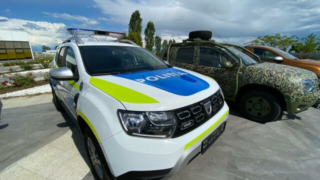 GALERIE FOTO. Poliţia Română cumpără peste 6.700 de maşini Dacia - Imaginea 3