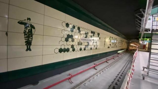 Cum arată noile stații de metrou Academia Militară și Eroilor 2. GALERIE FOTO - Imaginea 10