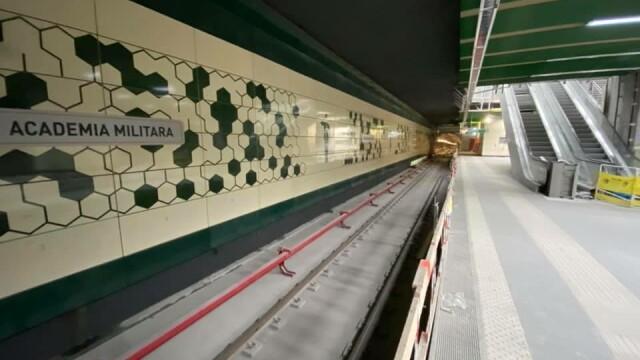 Cum arată noile stații de metrou Academia Militară și Eroilor 2. GALERIE FOTO - Imaginea 12