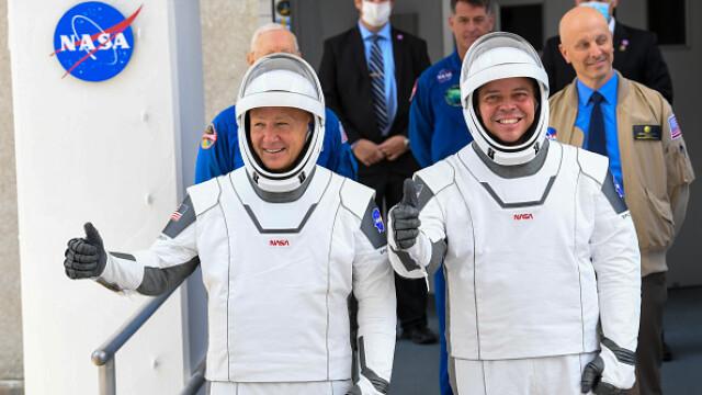 Moment istoric pentru NASA și SpaceX. Capsula Crew Dragon a fost lansată în spațiu. VIDEO - Imaginea 2