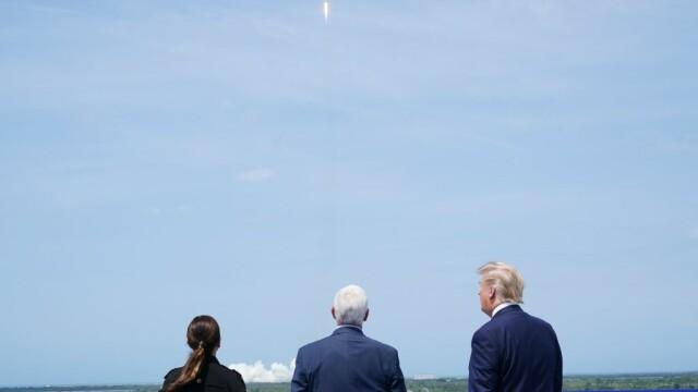 Moment istoric pentru NASA și SpaceX. Capsula Crew Dragon a fost lansată în spațiu. VIDEO - Imaginea 6