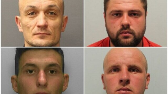 Pedepsele primite de patru români din UK care au violat o tânără la Londra