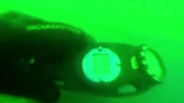 Imagini cu pescadorul scufundat la Gura Portiţei. Doi marinari sunt în continuare daţi dispăruţi