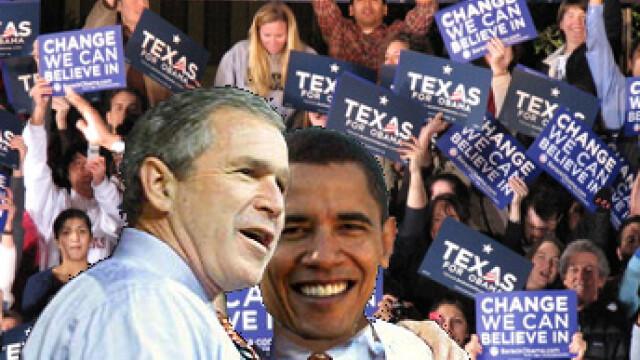 Bush nu mai vrea sa plece de la Casa Alba! Se intalneste cu Obama luni