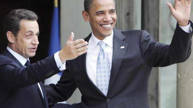 Sarkozy si Obama