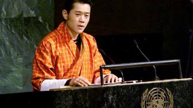 Cel mai tanar monarh din lume, incoronat in Bhutan
