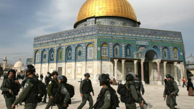"""""""Profetul este un porc"""", pe o moschee din Palestina"""
