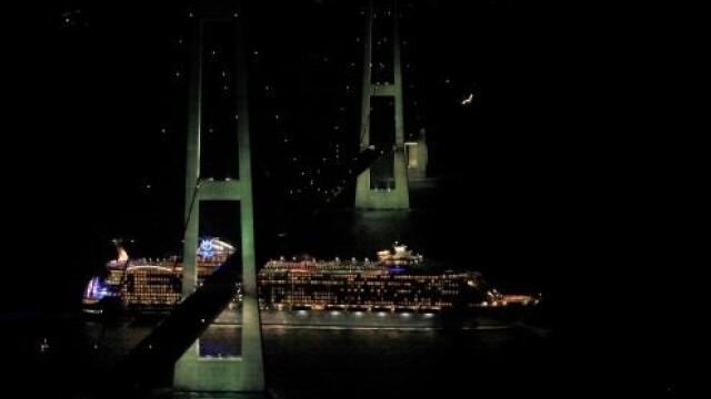 Poftiti in orasul-plutitor! Cea mai mare nava primeste vizitatori