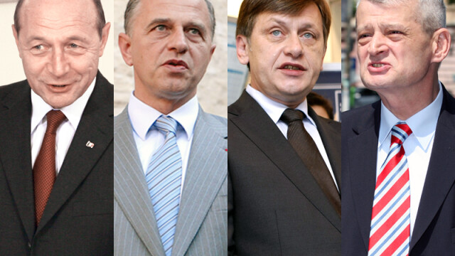 Oprescu, Basescu, Antonescu si Geoana