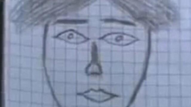 Cel mai prost portret-robot al unui asasin! Culmea, politia l-a prins!
