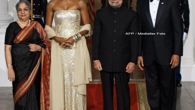 Eleganta si rafinament, la primul dineu oficial organizat de Barack Obama! - Imaginea 2