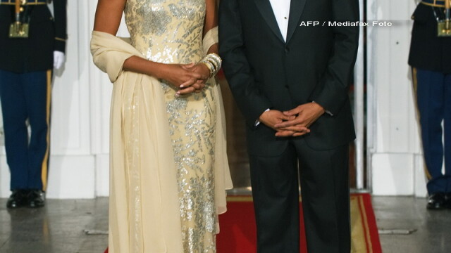 Eleganta si rafinament, la primul dineu oficial organizat de Barack Obama!