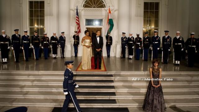 Eleganta si rafinament, la primul dineu oficial organizat de Barack Obama! - Imaginea 4