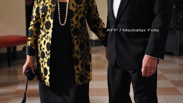 Eleganta si rafinament, la primul dineu oficial organizat de Barack Obama! - Imaginea 5