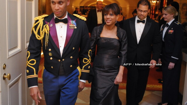 Eleganta si rafinament, la primul dineu oficial organizat de Barack Obama! - Imaginea 7