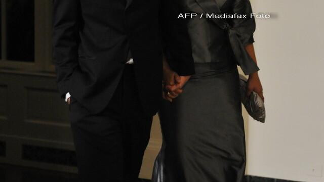 Eleganta si rafinament, la primul dineu oficial organizat de Barack Obama! - Imaginea 8