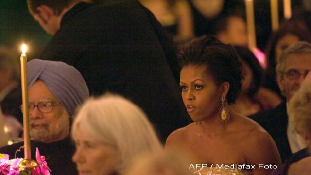 Eleganta si rafinament, la primul dineu oficial organizat de Barack Obama! - Imaginea 9