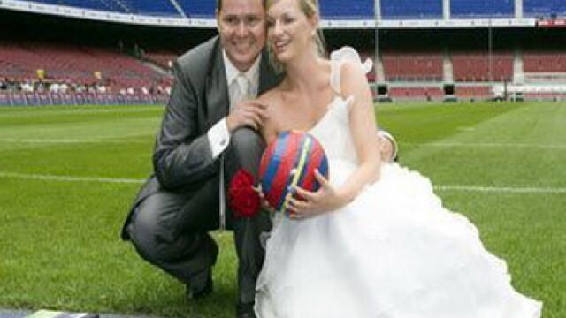 Nunta pe stadion
