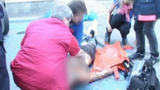 Locul asasinatului de la Piatra Neamt arata ca la abator! Vezi VIDEO! - Imaginea 1