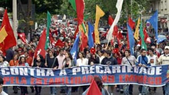 Portugalia a organizat cea mai mare greva generala din istoria tarii