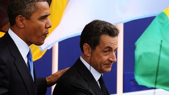 Barack Obama si Nicolas Sarkozy